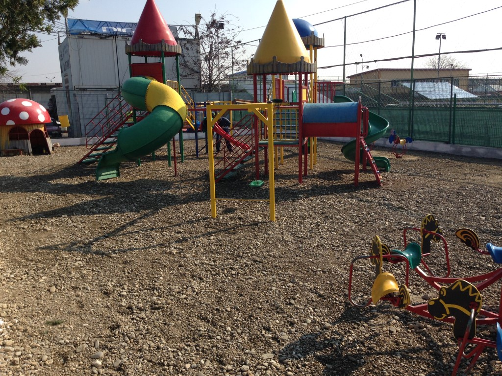 Loc de joaca Parc Primaria Voluntari